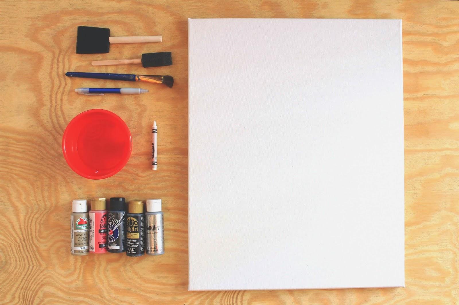 Crayon and Watercolor Painting 5